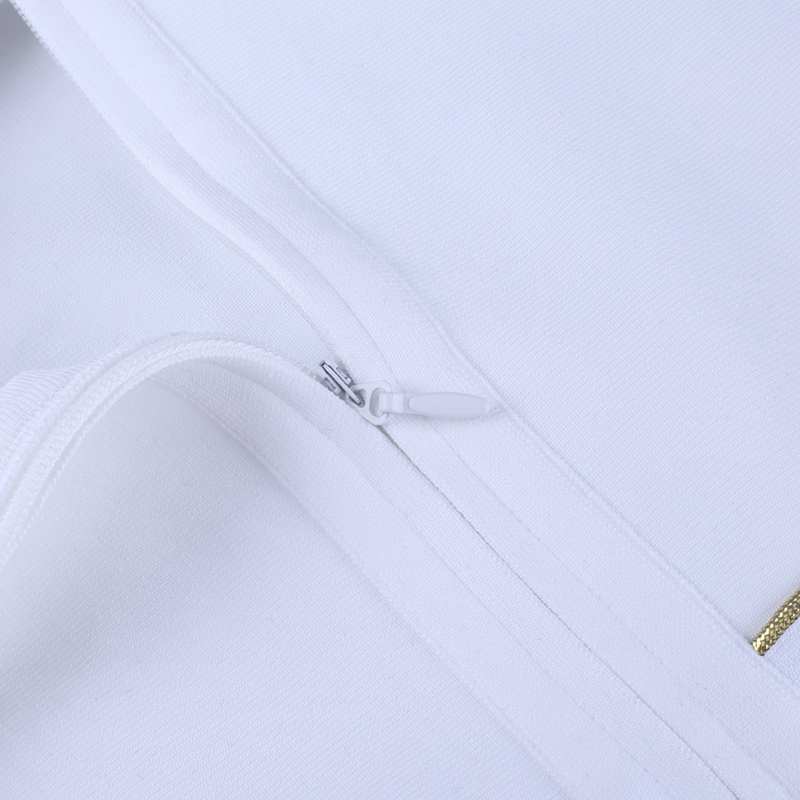 White A-Line discount Embellished 17