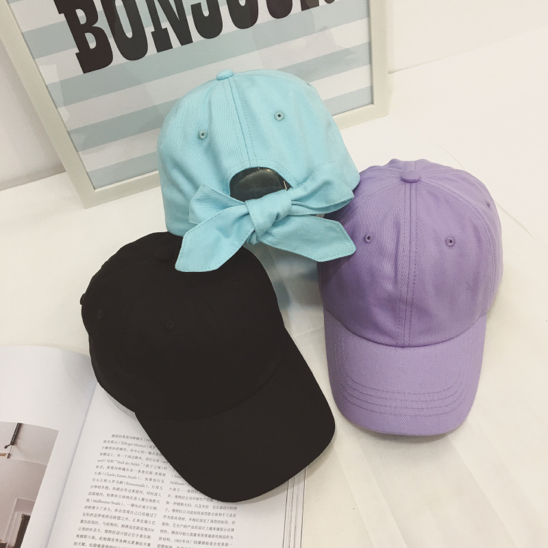 harajuku hats for men 2018 korean new spring summer hat kawaii bowknot ulzzang baseball hip hop cap visor woman snapback caps branded hip hop snapback hats summer flat baseball cap for women men embroidered korean caps casual visor cotton hat adjustable