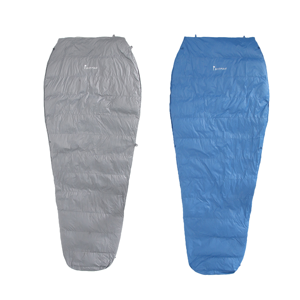 Portable Waterproof Down Sleeping Bag Under Quilt Blanket for Hammock Ground Camping Backpacking Lightweight whispers under ground