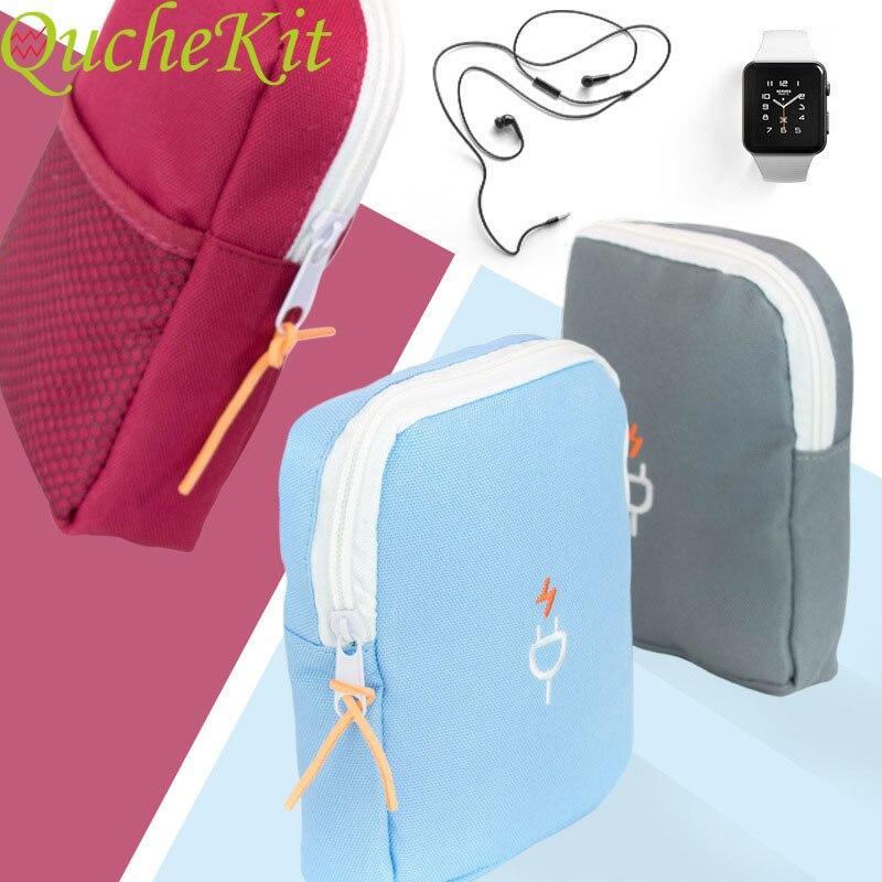 Organizer Storage-Bag Electronic-Accessories Portable Pouch USB Digital Kit Travel
