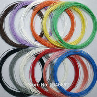 High Quality 30 AWG Silver Plated Cable Teflon OD 0 7mm Headphone Cable DIY Earphone Wire
