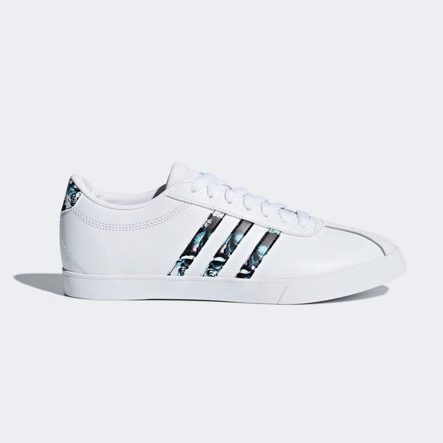 cheaper 242d2 3c0ac Adidas DB1373 courtset w Femme Chaussures Synthétique DÉTÉ tendance blanc  tissu-2018 original