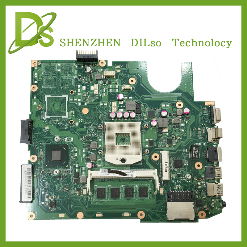 KEFU X45VD For ASUS X45VD laptop motherboard X45VD mainboard Integrated rev2.0 Test free shipping X45VD motherboard x45vd motherboard for asus x45vd 2g i3 x45v laptop mainboard tested well