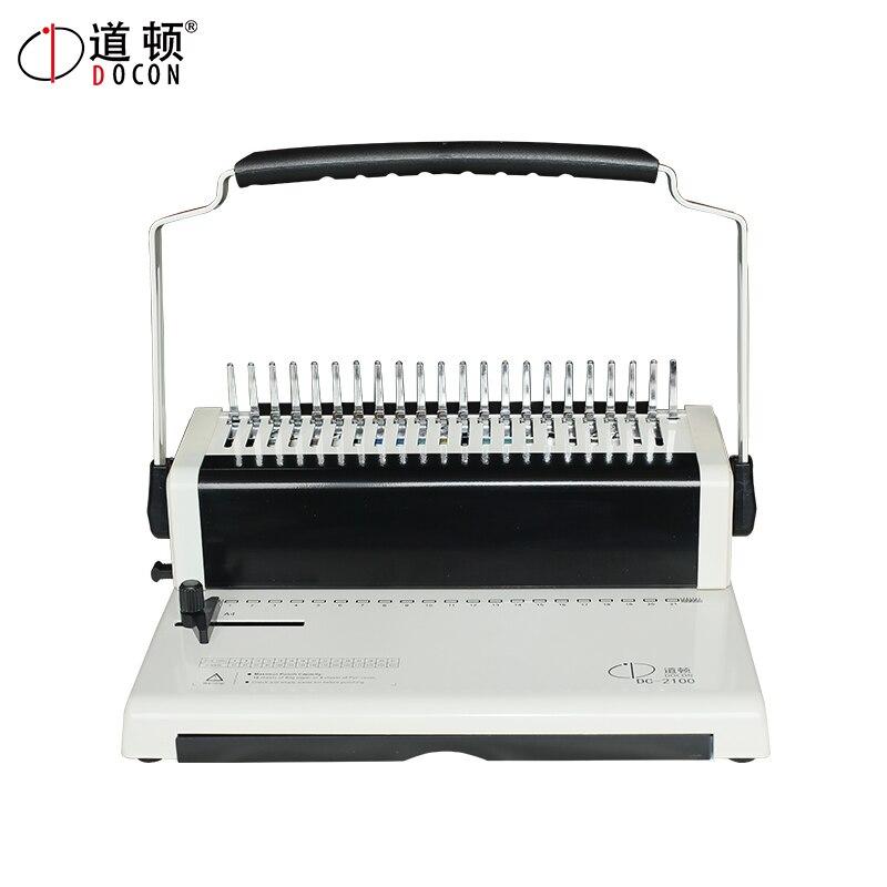 Binding-Machine Book Comb Manual