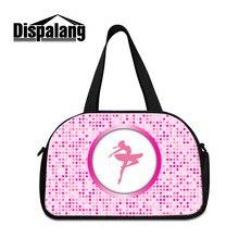 Dispalang Women's Bags for Totes Ballet Designer Travel Bag Girls Luggage Shoulder Bag large Capacity High Quality Crossbody Bag