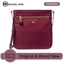 21592043b4f8a Michael Kors Kelsey firma bandolera bolsos de lujo para las mujeres  diseñador bolsas por MK(