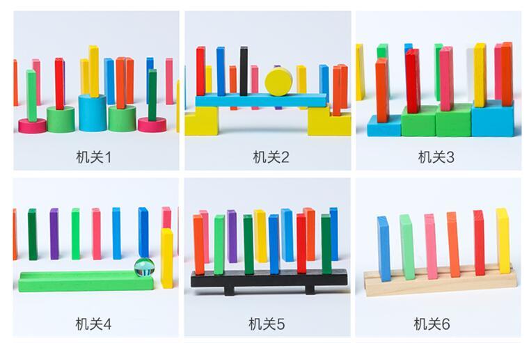 Смесь цветов домино деревянные игрушки кубики безопасная, из дерева игрушки для детей интеллектуальная игра взрослых Игрушка антистресс Семья игры Новинка подарки
