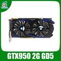 Nvidia geforce placa de vídeo gráfico gtx950 2 gb gddr5 cartão de jogo para game boy