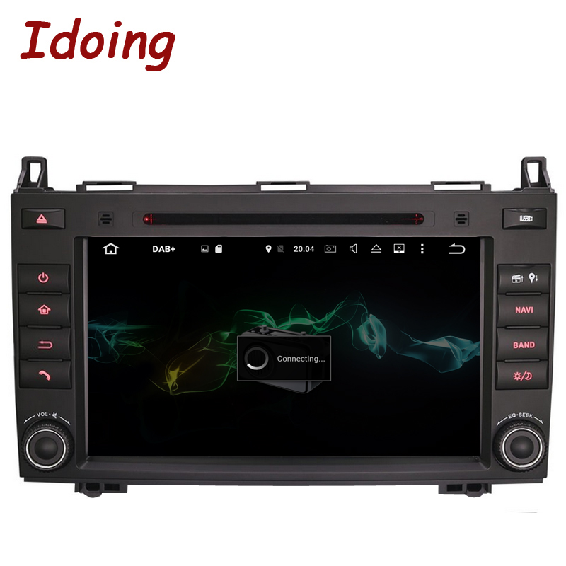 Idoing 2Din Android 7. 1 DVD Car Multimedia Video Player For MercedesBenz AB Class W169 Steering Wheel GPS Navigation Bluetooth