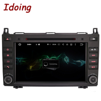 Idoing 2Din Android 7 1 DVD Car Multimedia Video Player For MercedesBenz AB Class W169 Steering