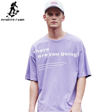 Pioneer Camp European Style T Shirt Men Letter Printed T-Shirt Fashion Tops High Quality Loose Tees 2019 ADT901095