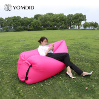 Lounge Sleep Bag Lazy Inflatable Beanbag Sofa Chair Living Room Bean Bag Cushion Outdoor Self Inflated