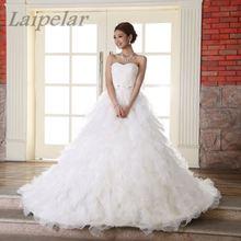 Купить с кэшбэком Spaghetti Strap Beach Dresses 2018 Vestido Noiva Praia Simple White Tulle Casamento Sashes Bridal Gown Custom Made