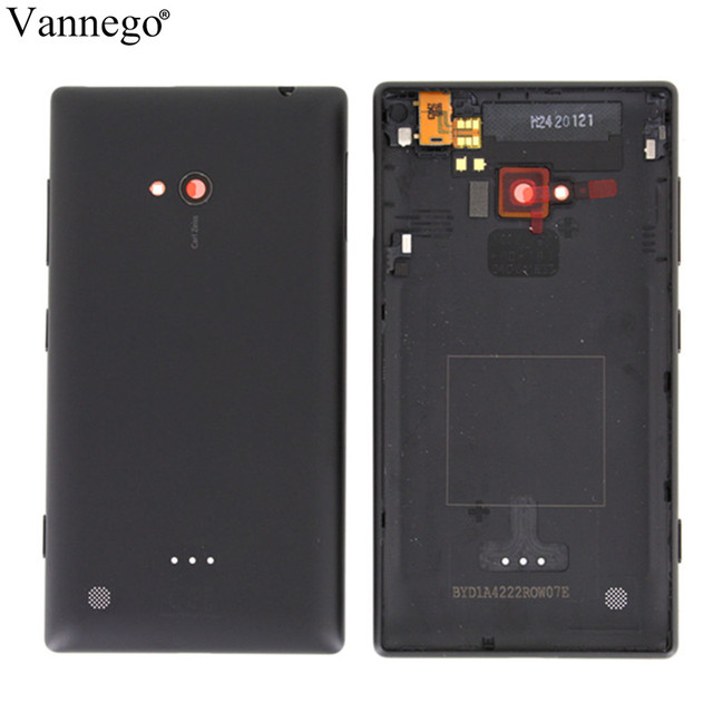 save off 942bc 31316 US $9.3  Vannego Original Housing Battery Cover For Nokia lumia 720 Back  Door Case for nokia 720 Replacement Parts four colors available-in Mobile  ...