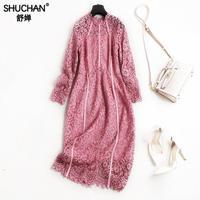 SHUCHAN LACE DRESS Women S Summer Dresses European News 2018 For Women Dress Fashion Korean Spring