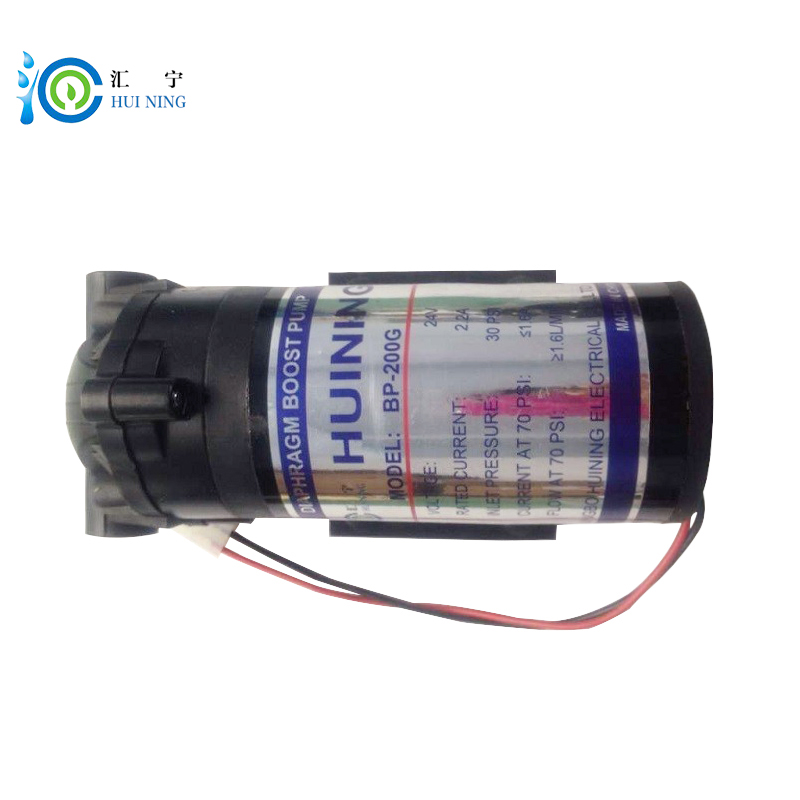 DC 24V 200G inline water booster pump for reverse osmosis system 6162 63 1015 sa6d170e 6d170 engine water pump for komatsu