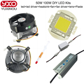 50W 100W LED  Chip for High Power Full DIY LED Floodlight Lamp Spot Light Integrated COB LED Beads with IP66 Driver