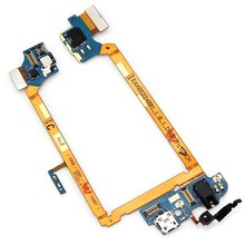 Original For LG G2 D800 D801 Phone Accessory Replacement Charging Port Earphone Jack Flex Cable Ribbon