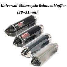 38 ~ 51 мм мотоцикл глушитель модифицированный с йо стикер Moto Escape для ниндзя 250 Z250 ниндзя 300 ниндзя 250R Z250SL ниндзя 400