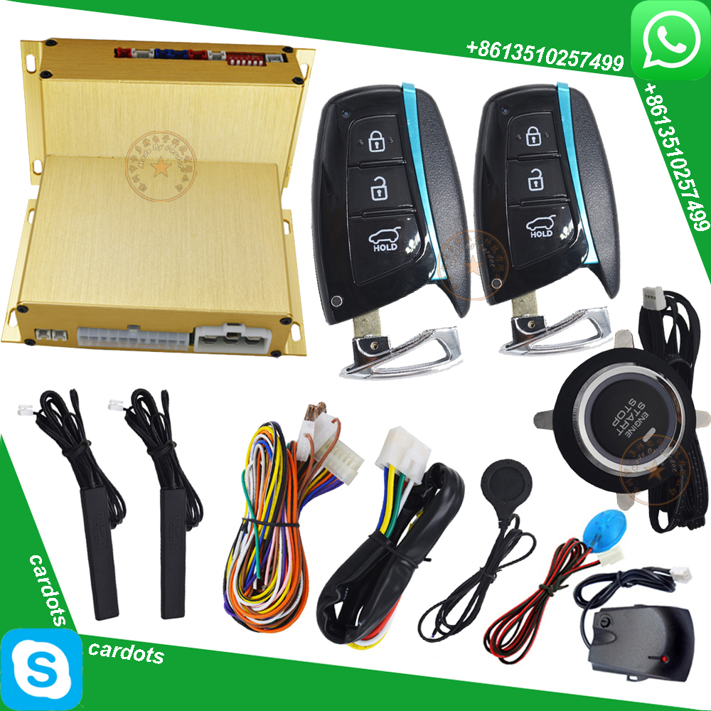 Diesel Engine Start Stop System : Automotive car alarm system with engine start stop button