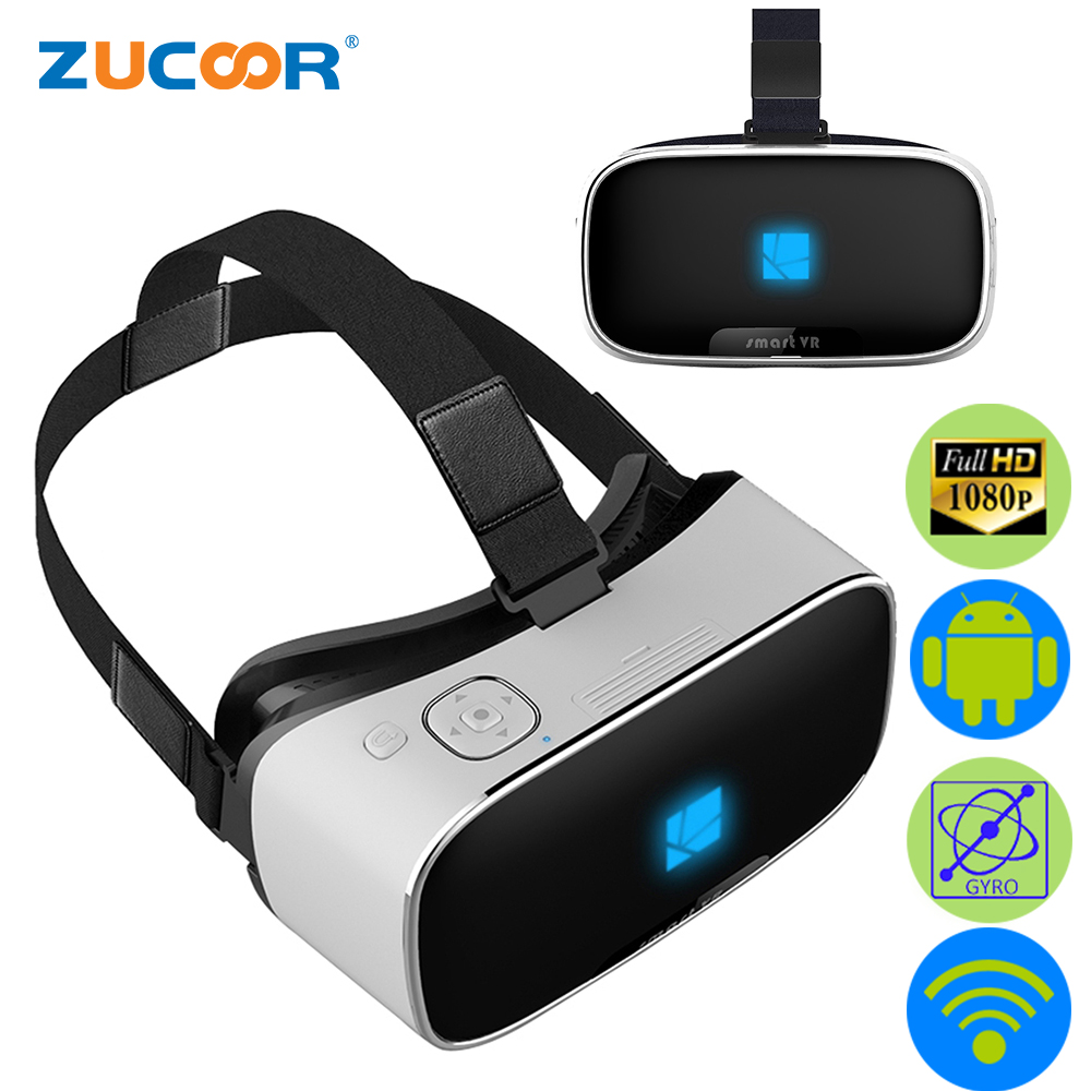 All In One 3D VR BOX Virtual Reality Goggles Binocular