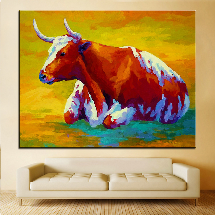 Cow Wall Art compare prices on cow pictures wall art- online shopping/buy low