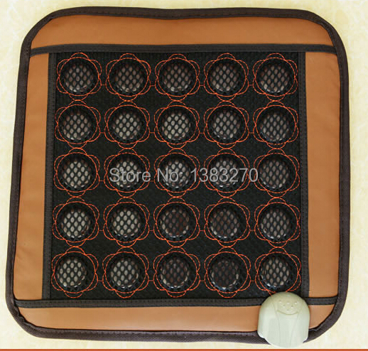 Hot Sale jade Massage Heated chair Cushion massage cushion for chair 45*45CM christmas series cushion covers 45 x 45cm