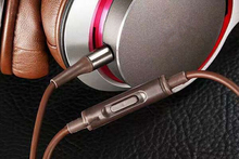 High quality 3.5mm SR 7 HiFi headset 2 Colors Headphone With Mic&Remote stereo Headphone with retail Box Free Shipping