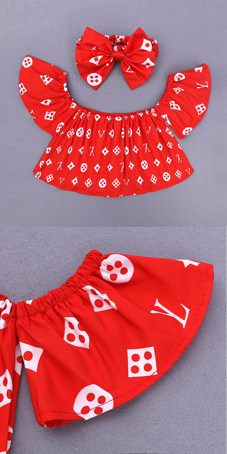 Children Sets for Girls Fashion 19 New Style Girls Suits for Children Girls T-shirt + Pants + Headband 3pcs. Suit ST307 164