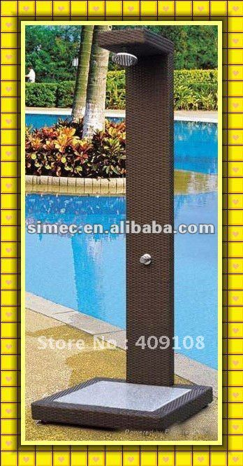 Aluminum Outdoor Pool Shower Scgs 002 In Garden Sets From