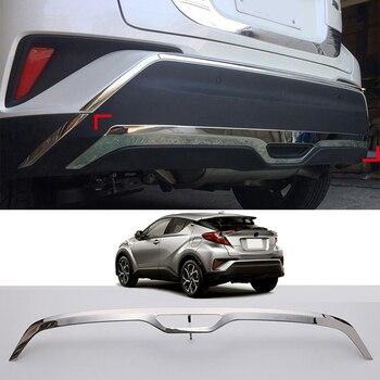 Автомобильный Стайлинг 1 шт. задний бампер из нержавеющей стали Нижняя Защитная Накладка для Toyota C-HR CHR 2016 2017 2018