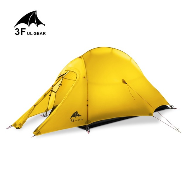 3F UL GEAR 1 Person 4 Season Ultralight C&ing Tent 1 Man Lightweight C& Gear  sc 1 st  AliExpress.com & 3F UL GEAR 1 Person 4 Season Ultralight Camping Tent 1 Man ...