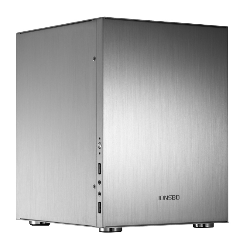 JONSBO C2 Computer Case Desktop HTPC Aluminum Chassis Support ITX Motherboard Large Power supply Long Graphics Card USB3.0 e mini training m3 computer case itx desktop power supply aluminum nobility