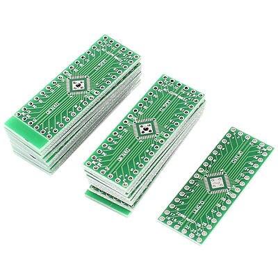 10 x QFN32/QFN40 0.5mm Pitch IC DIP Prototype Dual Sides PCB Board Adapter Plate бесплатная доставка горячее надувательство интегральные схемы оригинальный mc14556bcp ic dcoder demux dual 1 4 16 dip 14556 mc14556 10 шт
