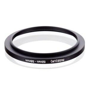 Image 2 - Оригинальный черный повышающий кольцевой фильтр адаптер RISE (Великобритания) 52 мм 58 мм 52 58 мм от 52 до 58