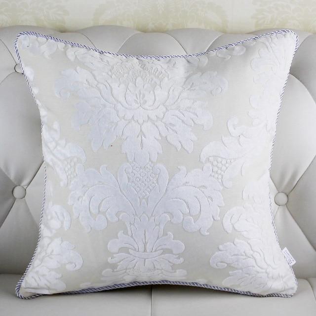 High Quality Europe Style White Throw Pillows Decorative Throw Best Huge Decorative Pillows