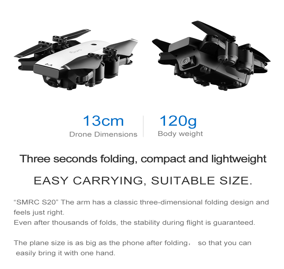 S GPS FOLLOW ME FPV RC Drone With Video 1080P HD Camera Photos Features Double Quadcopter 5MP pixel Foldable toy drone 5