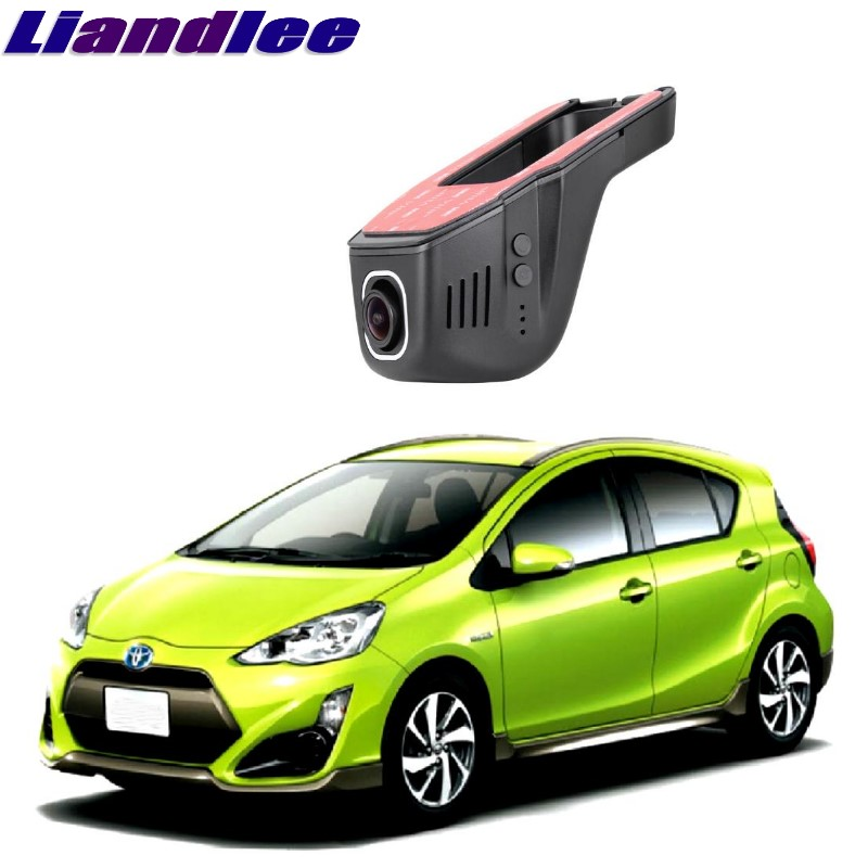 Liandlee For Toyota Prius C / Aqua NHP10 2011~2018 Car Black Box WiFi DVR Dash Camera Driving Video Recorder цена 2017