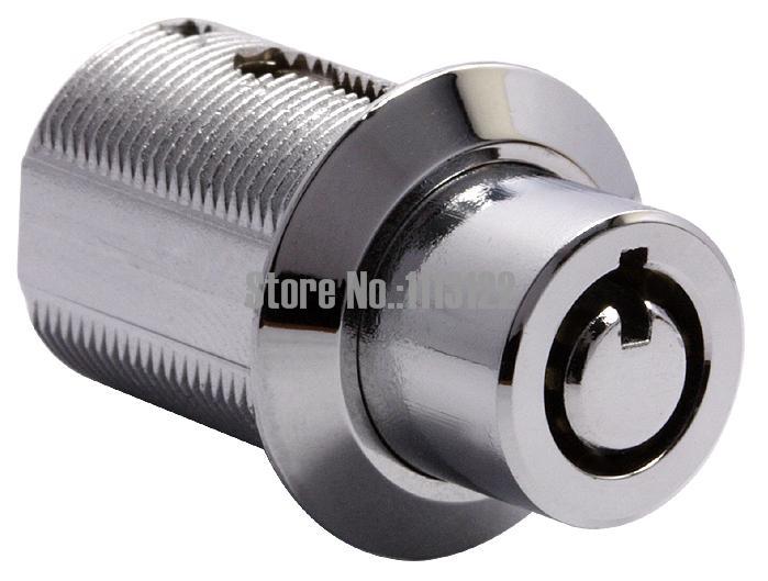 MA19 цинк alloytubular push цилиндра замка 19 мм светодиодная реклама LOCK 7 контакты трубчатые push в замок 1 шт.