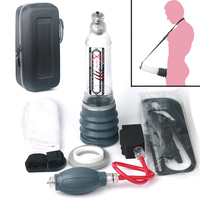 Hydrotherapy X40 Extreme Xtreme Penes Vacuum Pump With Long Silicone Pad Enlargement Pro Extender With Shower Strap Spa Massager