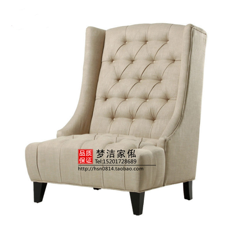 European Neo Clical Sofa Leather Card After Sitting Mediterranean American Modern Office Chair Single Paper Arts In Hotel Sofas From Furniture On