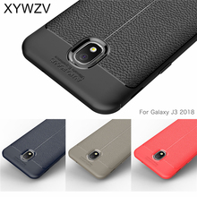 sFor Samsung Galaxy J3 2018 Case Cover Luxury Rubber Phone For Fundas