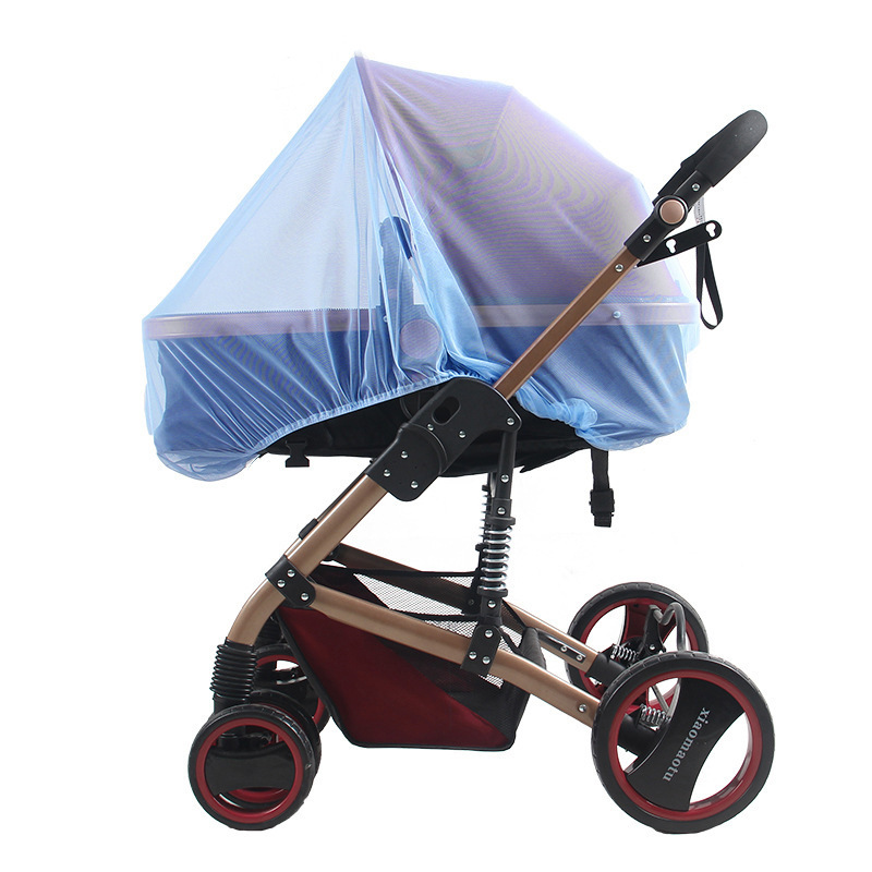 1 PC Baby  Cart Mosquito Net Increase Encryption Stroller Dedicated General-purpose Pram Full Cover Half Bell Type Mosquito Nets