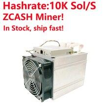Быстро! Bitmain Antminer Z9 мини 10 k Sol/s 300 W Asic Equihash Miner зедкэш Майнер с нормальный уровень питания