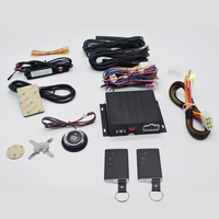 car electronics security system keyless entry car engine start stop with push button/remote start 2015