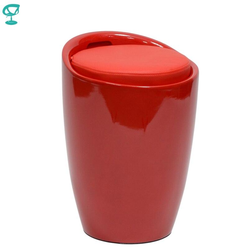94903 Barneo N-13 plastique cuisine petit déjeuner intérieur tabouret Bar chaise meubles de cuisine rouge livraison gratuite en russie