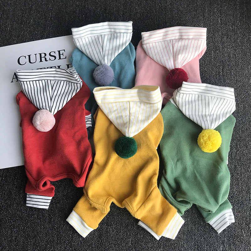 Warm Cat Clothes Winter Pet Clothing for Dogs Fashion Outfits Coats Soft Sweater Hoodie Rabbit Animals Spring Pet Supplies