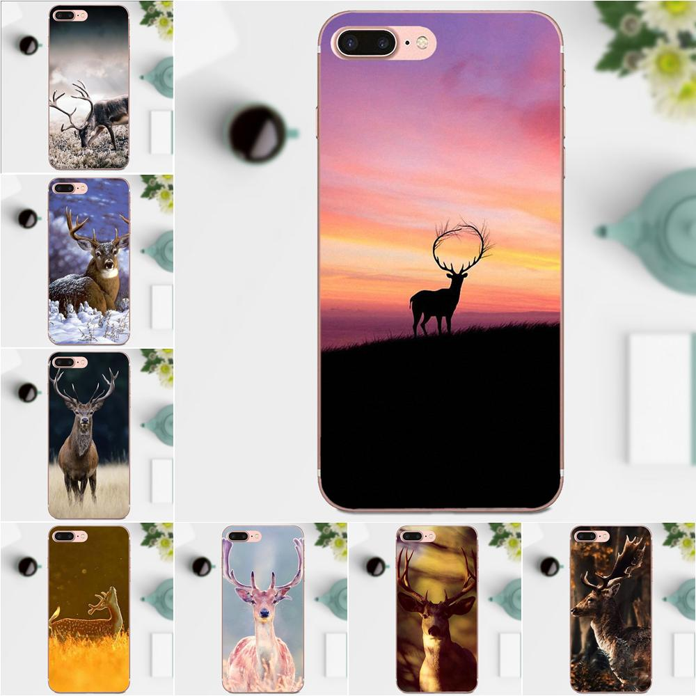 The Beautiful Wild Deer For Xiaomi Redmi Note 2 3 3S 4 4A 4X 5 5A 6 6A Pro  Plus Customized Pictures Soft Rubber Phone Case 3ff8408f0ec7
