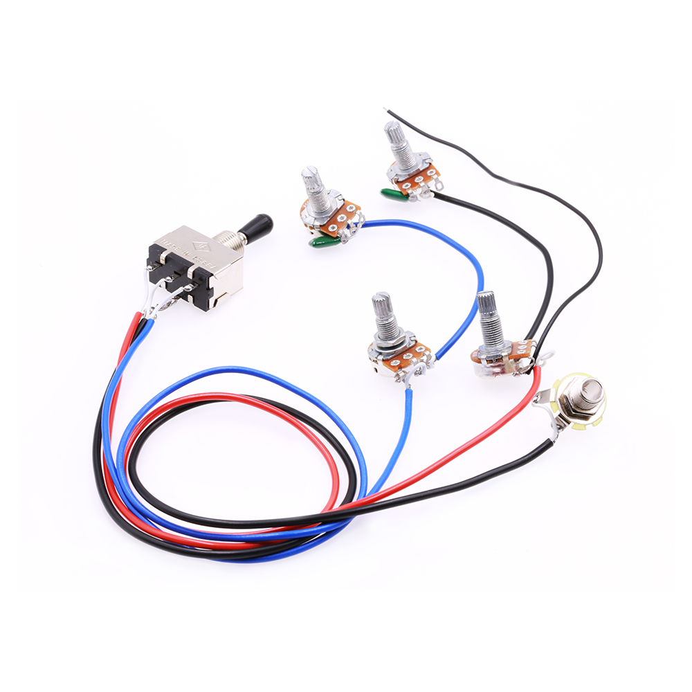 Rocket Electric Guitar Pickup Harness Prewired 2 V T 3 Ways Toggle Wiring Site Khai Thc Cch Chuyn I