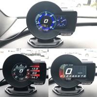Magician OBD Head Up Display Car Digital Boost Gauge Voltage Speed Meter Water Temp Alarm Auto Diagnostic Tool car accessiores